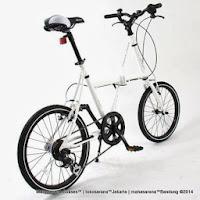 Sepeda Lipat DOPPELGANGER FX01 Stealth 20 Inci