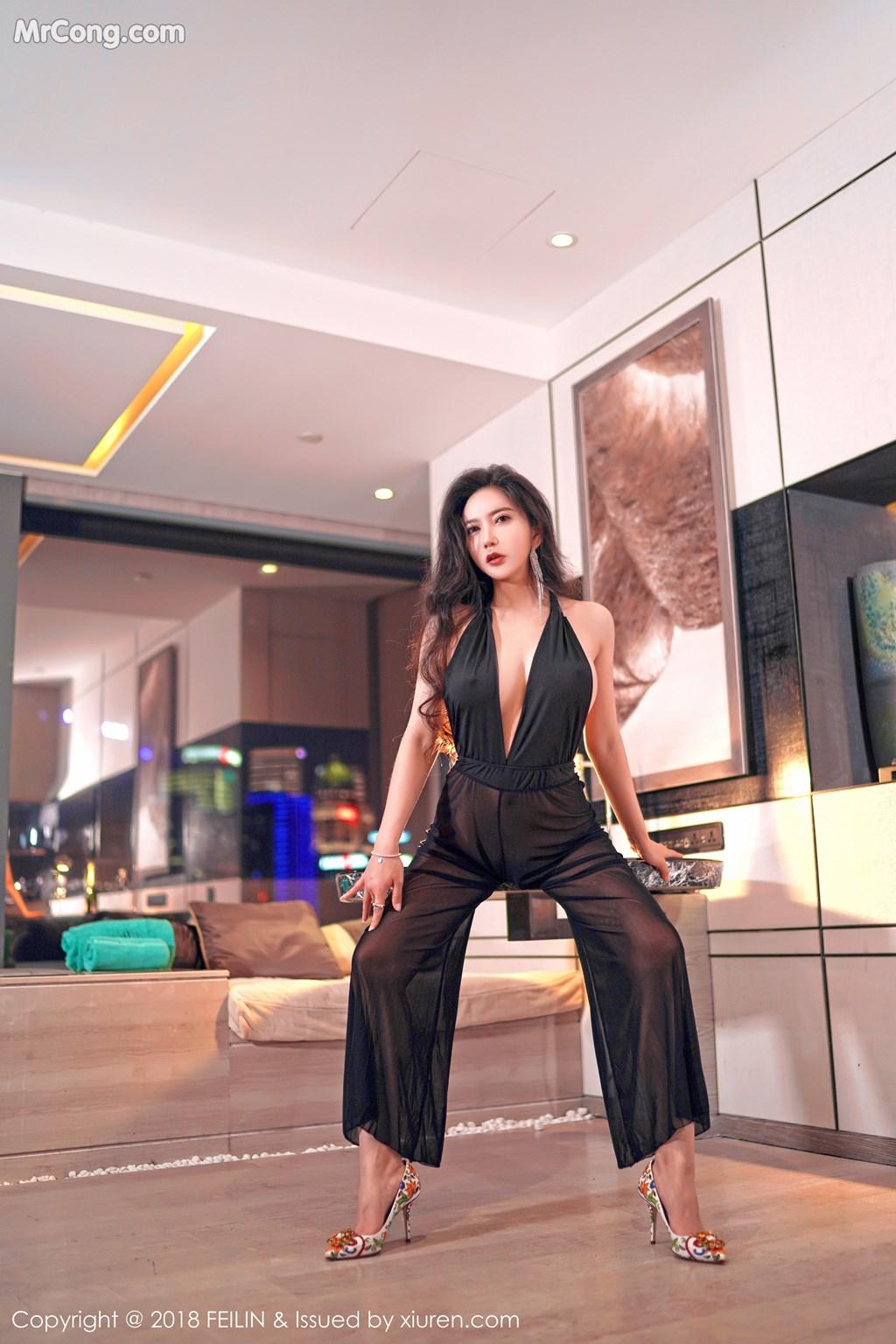 Image FEILIN-Vol.130-Xin-Yan-Gong-Zhu-MrCong.com-003 in post FEILIN Vol.130: Người mẫu Xin Yan Gong Zhu (心妍公主) (39 ảnh)