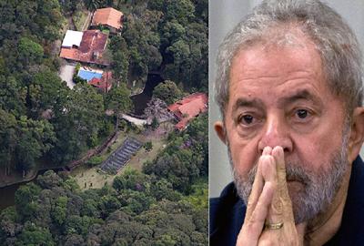 Lula se complica cada vez mais com o sitio Atibaia