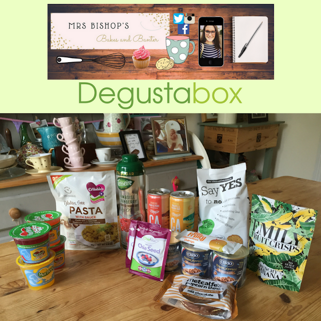 September 2016 Degustabox