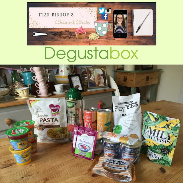 September 2016 Degustabox