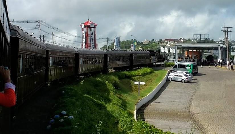 City Tour Vale dos Vinhedos, Rio Grande do Sul - Trem Maria Fumaça em Carlos Barbosa
