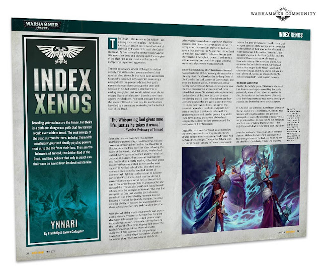 Index Xenos Ynnari