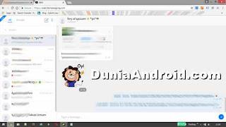 tampilan BBM web di laptop