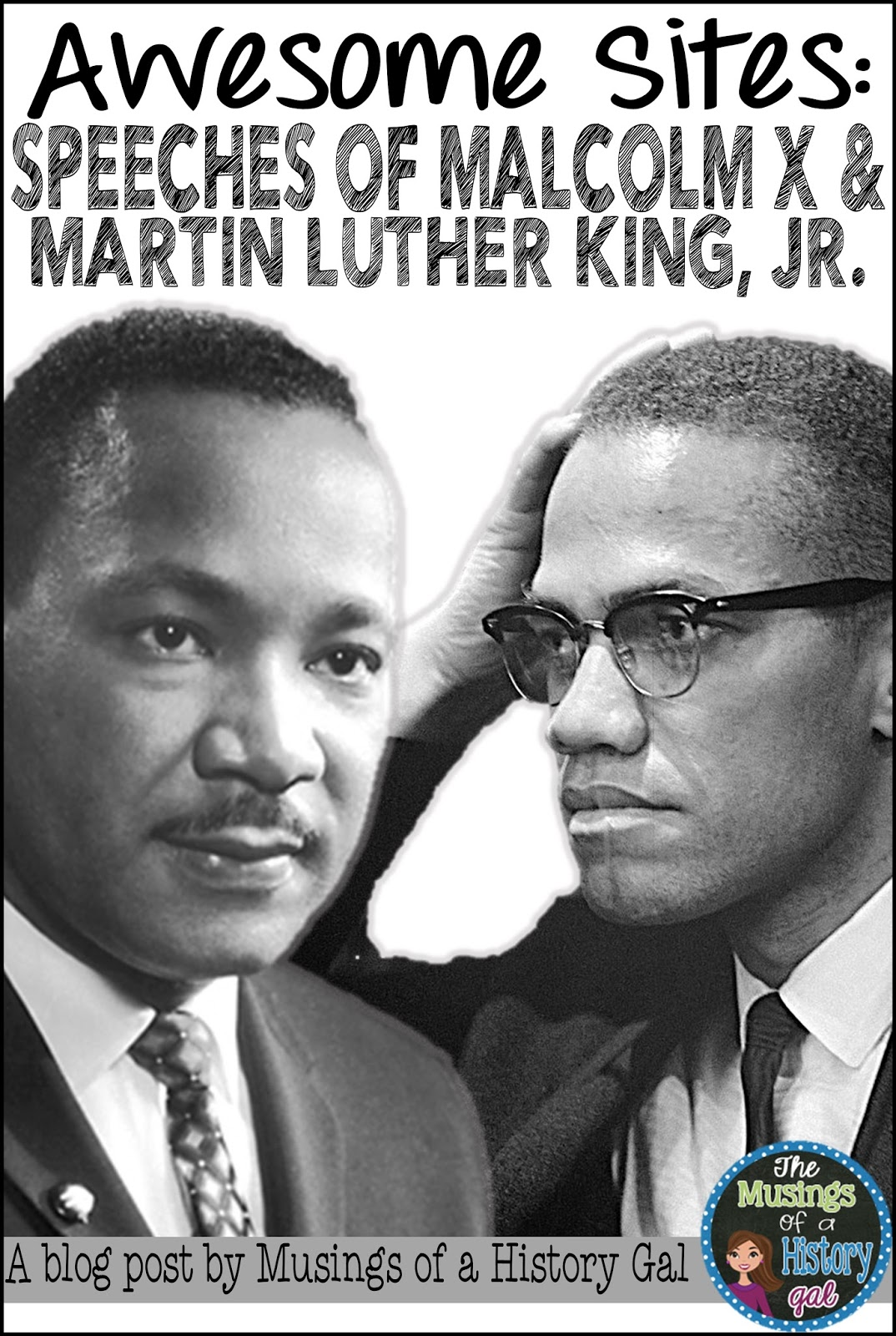 an analysis of malcolm x and martin luther king jr This is my rhetorical analysis of malcolm x's speech and the other was malcom x while martin luther king jr advocated for peaceful revolution.