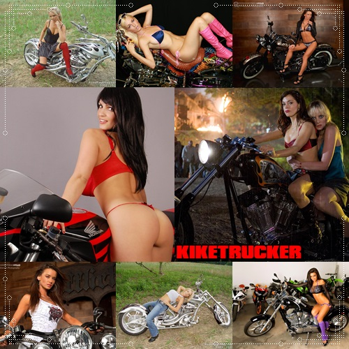 Wallpapers chicas y motos HD - Pack 2