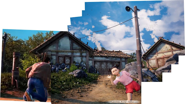 Composite view of the location (from the THQ Nordic presentation & Kickstarter Update video clips)