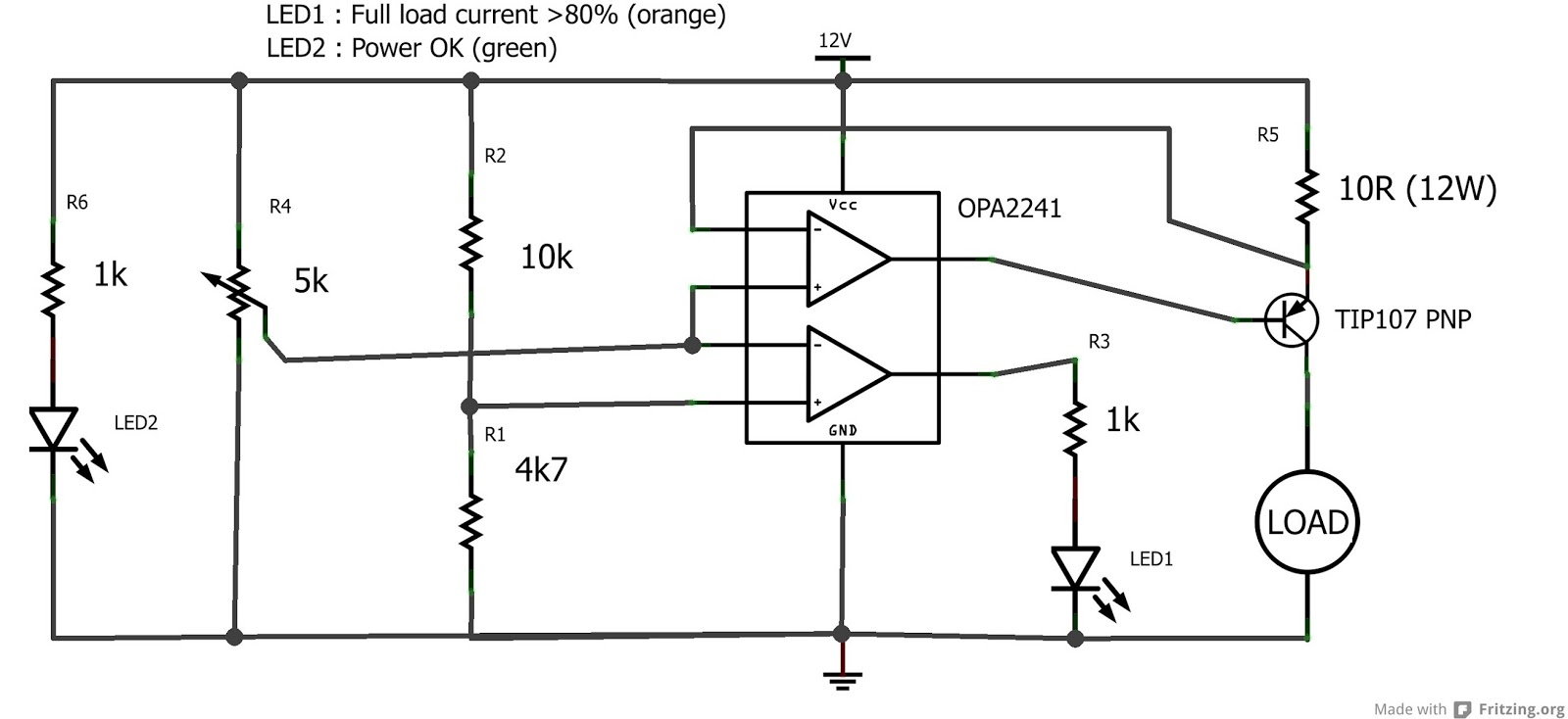 Electronics Projects And Tutorials: Adjustable Constant