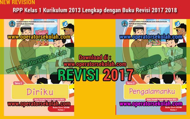 RPP Kelas 1 Kurikulum 2013 Lengkap dengan Buku Revisi 2017 2018