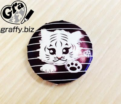 White Tiger Badge 白虎