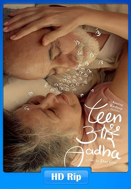 Teen Aur Aadha 2019 Hindi 720p WEB-HD ESub x264 | 480p 300MB | 100MB HEVC Poster
