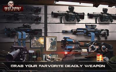 Dead target zombie mod apk game