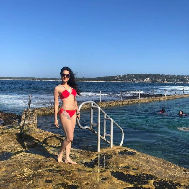 Nushrat Bharucha Bikini