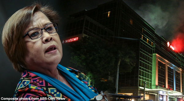 DOJ Secretary Vitaliano Aguirre said that De Lima may be at fault on RWM incident
