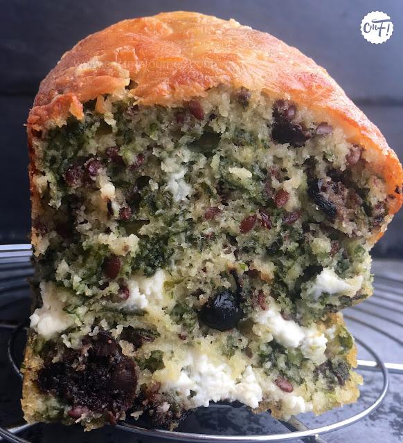 Cake Sale Feta Tomates S Ef Bf Bdch Ef Bf Bdes Lardons