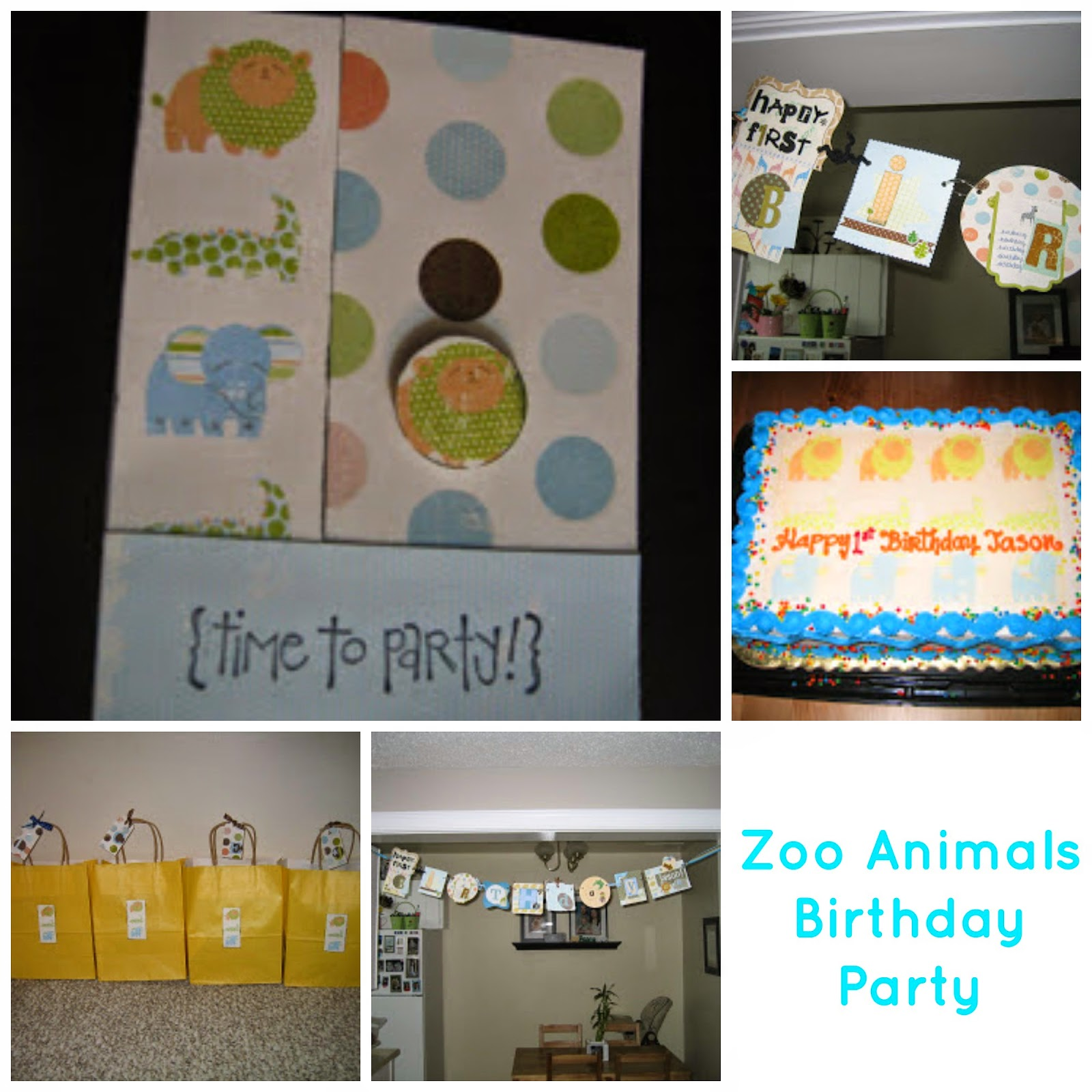 http://craftingandcreativity.blogspot.ca/2011/05/boys-1st-birthday-party-zoo-animals.html