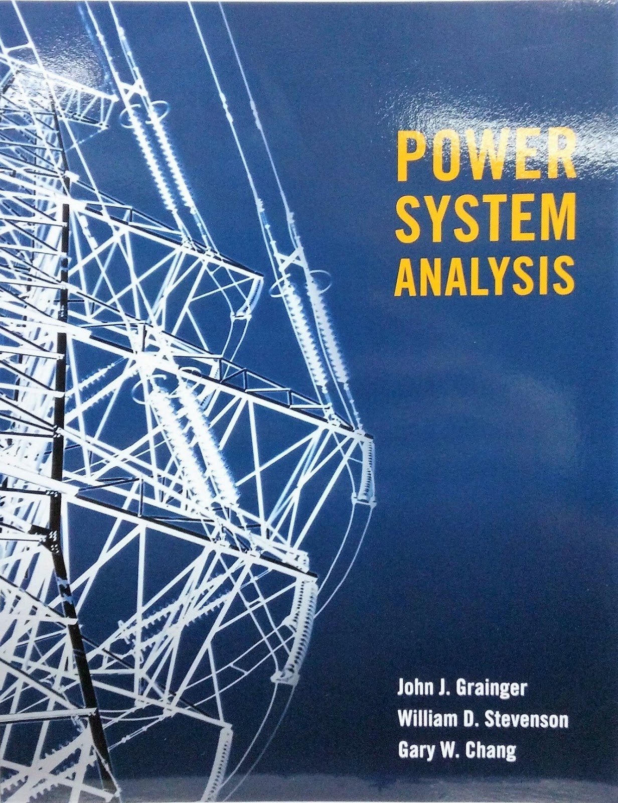 And electrical analysis power systems pdf design