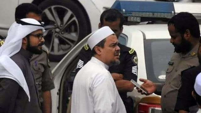HRS: Jangan Main-main di Wilayah Hukum Arab Saudi