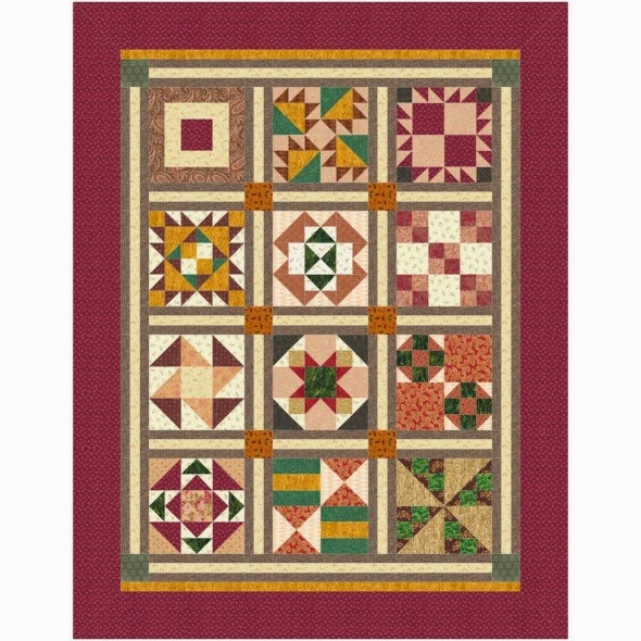E-Book Country Flair Quilt