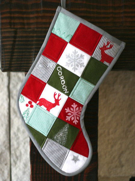 Free Pattern Day Christmas Stockings Quilt Inspiration