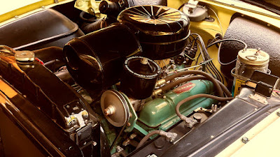 1954 Buick Skylark Convertible Engine 02