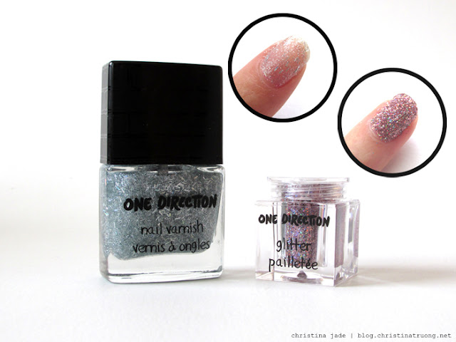 Makeup by One Direction Review Swatch Rock Me Nail Kit Diana Star Polish Varnish