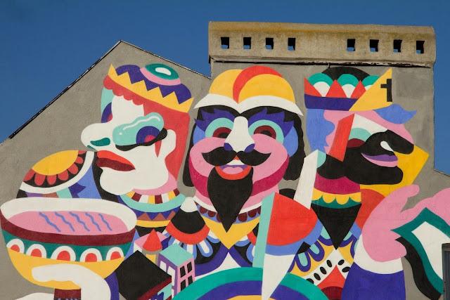 New Street Art By 3TTMAN In Lodz, Poland For Fundacja Urban Forms Festival 2013.