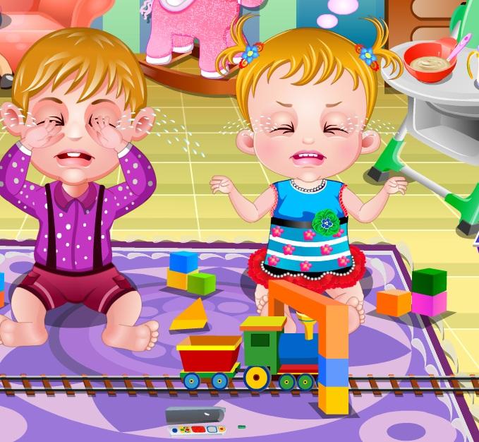 Free Kids Games Baby Hazel Playdate Double Trouble