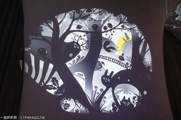 台中西屯|2018台中國家歌劇院聖誕節活動|魔幻曲牆光影秀|空中花園燈光展