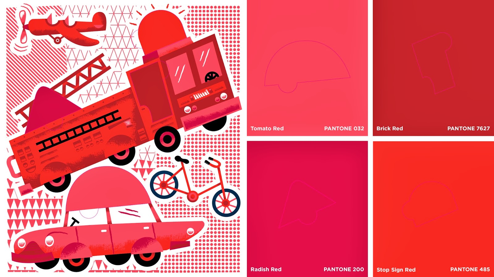 Pantone Color Puzzles by Pantone and AbramsAppleseed, art by Tad