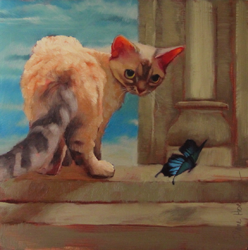 The Stow Away, is this a Devon Rex?