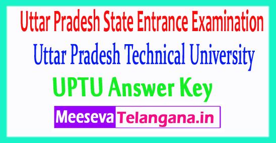 Uttar Pradesh State Entrance Examination UPSEE 2018 Answer Key