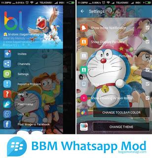 BBM WA Mod v 2.11.0.18 Bisa Ganti Tema Sendiri