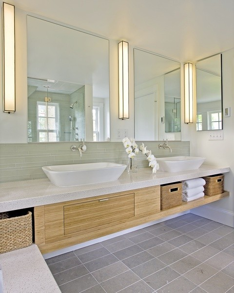 Bathroom sink backsplash height. bathroom backsplashes how tall ...