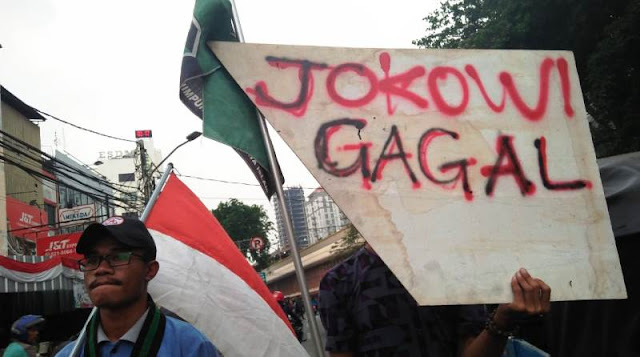 HMI Jakarta: Rupiah Lemah, Presiden Jokowi Gagal
