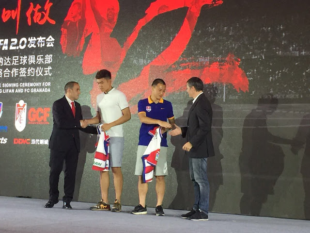 El Granada CF potencia su marca en China