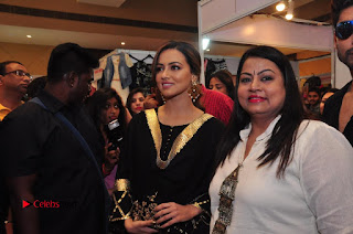 Bollywood Actress Sana Khan Launches Aakrithi Exibition  0320.JPG