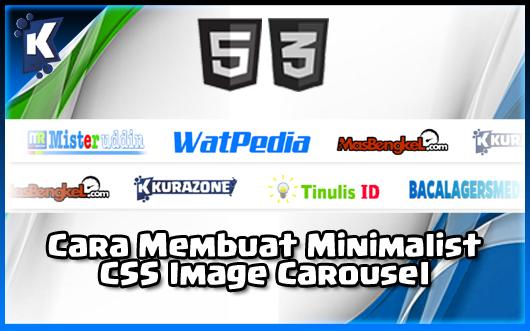 Cara Membuat Minimalist CSS Image Carousel