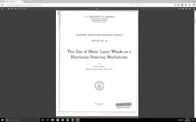 The use of Mean Layer winds as a Hurricane Steering Mechanism