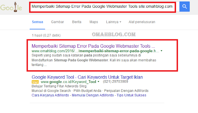 Cara Cepat Terindeks Google Dengan Fetch As Google