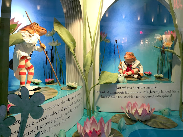Fenwick window 2016 Beatrix Potter Theme Newcastle Upon Tyne
