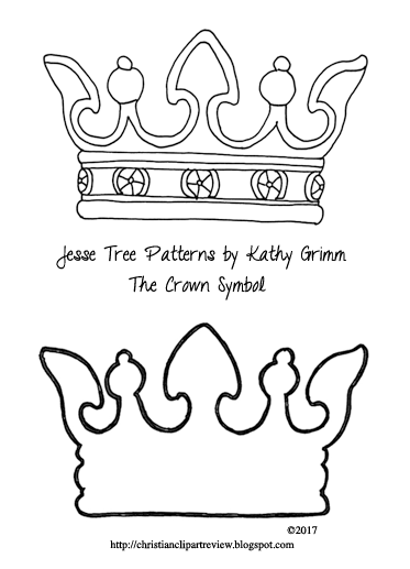 jesse tree ornament templates - jesse tree ornament the crown christian clip art review