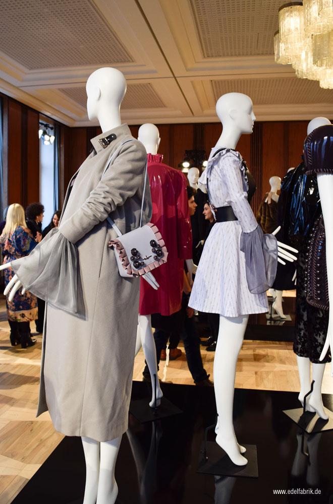 Marina Hoermanseder beim Berliner Modesalon 2017