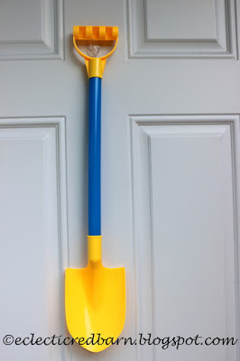 Eclectic Red Barn:Plastic Shovel from the Dollar Tree