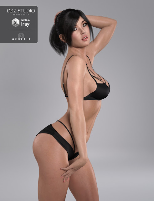 DT- Yolanda for Genesis 3 Female