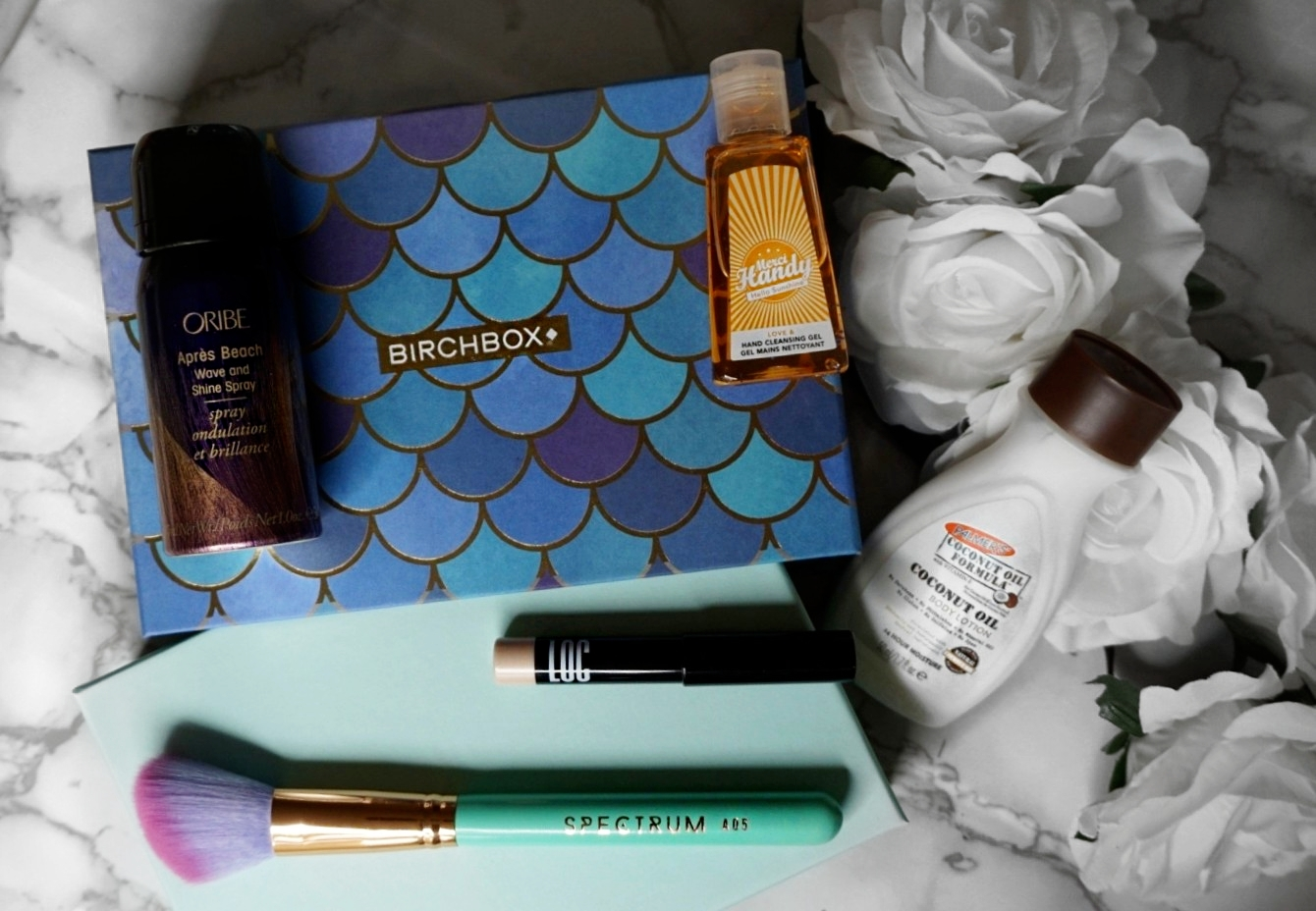 MERMAID VIBES WITH THE AUGUST 2018 BIRCHBOX EDITION