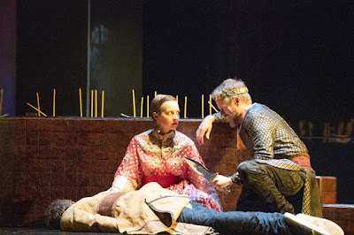 Handel: Radamisto - William Towers, Katie Bray, Grant Doyle - English Touring Opera (Photo Richard Hubert Smith)