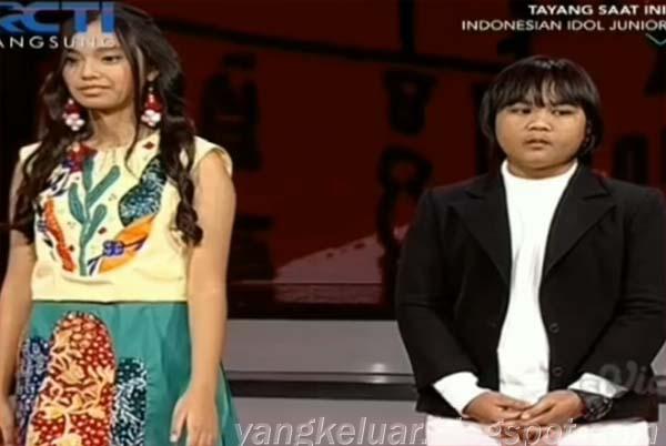 Indonesian Idol Junior Yang Tereliminasi Tadi Malam