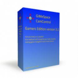 تحميل GIMESPACE CAMCONTROL مجانا للتحكم عبر الجسم بألعاب الكمبيوتر اللوحي مع كود التفعيل