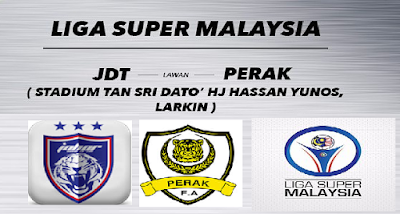 siaran langsung JDT vs Perak 5 April 2016
